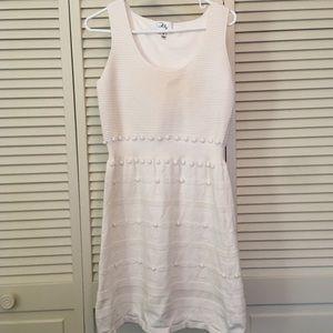 Milly White / Cream Sweater Dress